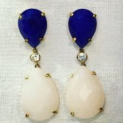 Pendientes TU Y YO. Blue Robin Collection.